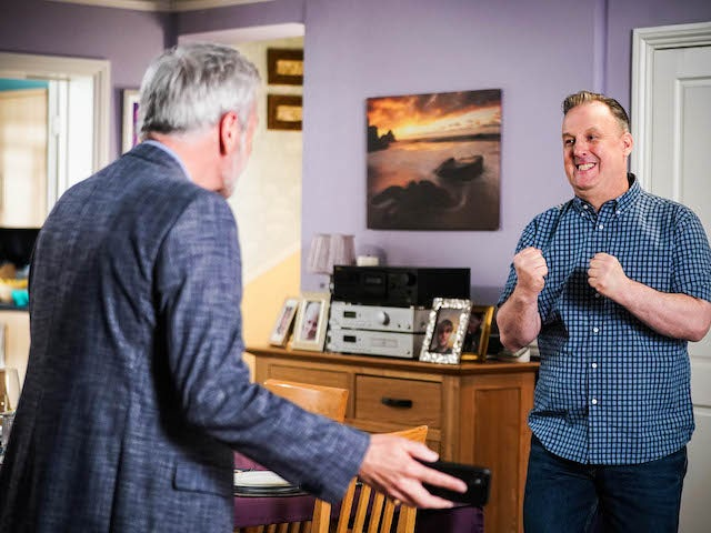 Rocky and Harvey on EastEnders on August 2, 2021