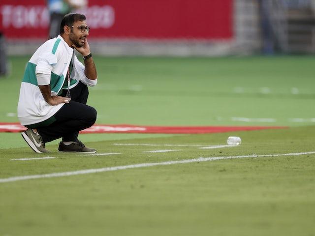 Saudi Arabia coach Saad Ali Al Shehri on July 22, 2021