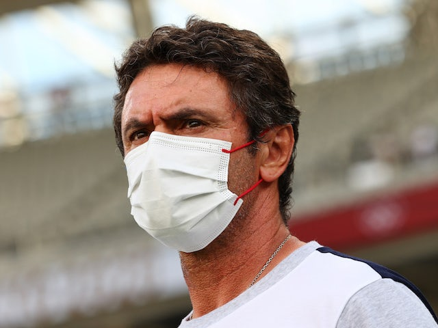 France coach Sylvain Ripoll before the match on July 22, 2021