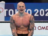 Adam Peaty pictured on July 26, 2021