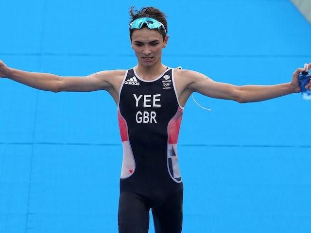 Result: Tokyo 2020: Alex Yee wins triathlon silver for Team GB