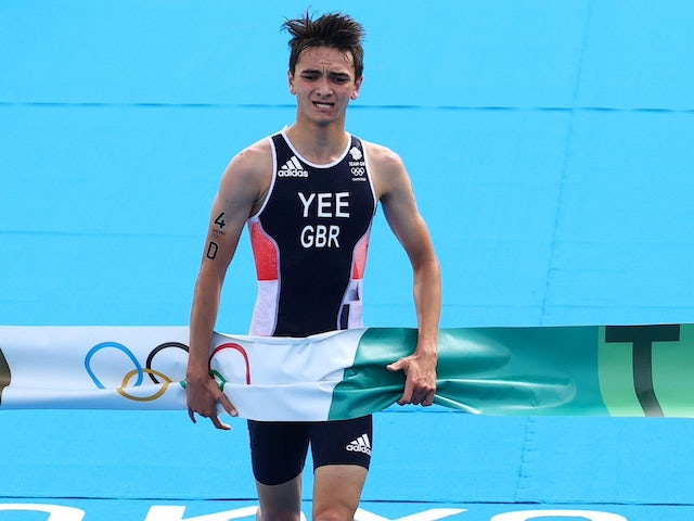 Alex Yee aiming to create his own legacy in triathlon after starring in Tokyo