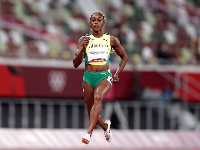 Tokyo 2020 - Clean sweep for Jamaica in women's 100m final