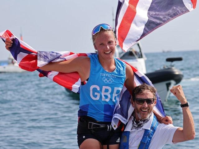 Result: Tokyo 2020: GB's Emma Wilson takes windsurfing bronze