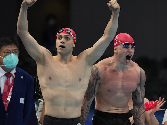 Result: Tokyo 2020 - Another relay gold for Adam Peaty's Team GB