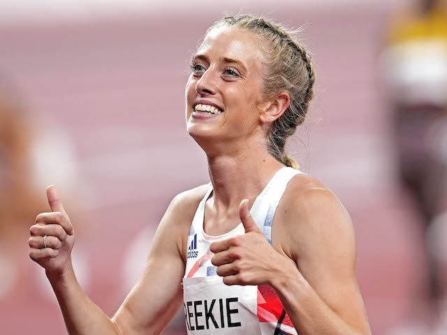 Tokyo 2020: Jemma Reekie feels no extra pressure to deliver