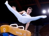 Max Whitlock in action at the Tokyo Olympics on August 1, 2021