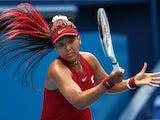 Naomi Osaka in action at the Olympics on July 26, 2021