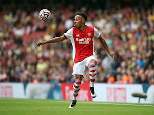 Aubameyang 'set to miss Arsenal's clash with Brentford'