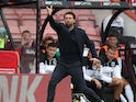 MK Dons manager Russell Martin reacts on July 31, 2021