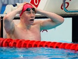 Tom Dean pictured at the Tokyo Olympics on July 27, 2021