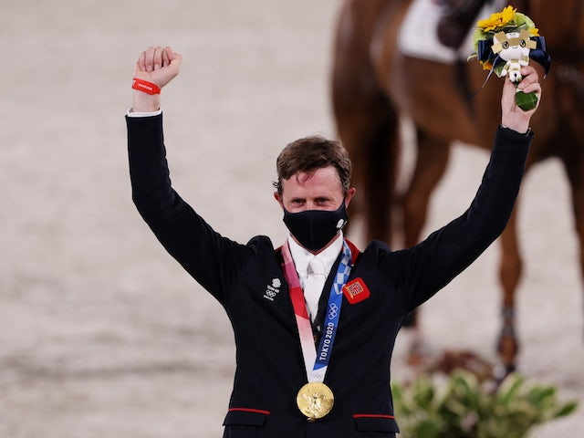 Ben Maher and Explosion W - a red-hot combination that blew away all rivals