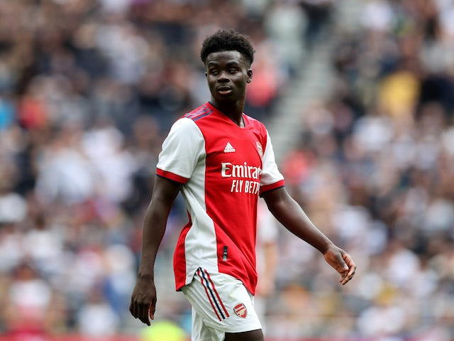 Arsenal's Bukayo Saka 'approached by a number of clubs'