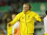 Borussia Dortmund's Erling Braut Haaland pictured on August 8, 2021