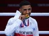Galal Yafai pictured at the Tokyo 2020 Olympics on August 7, 2021