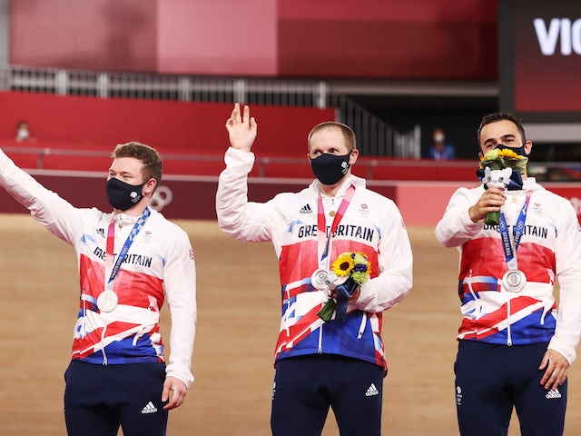 Laura and Jason Kenny settle for silver medals as Team GB lose their grip
