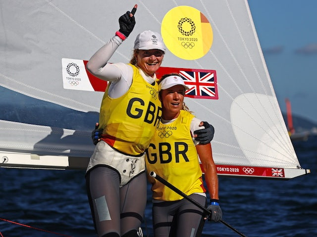 It felt like a really nervous Christmas - Hannah Mills thrilled to seal gold