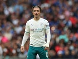 Manchester City's Jack Grealish in action on August 7, 2021