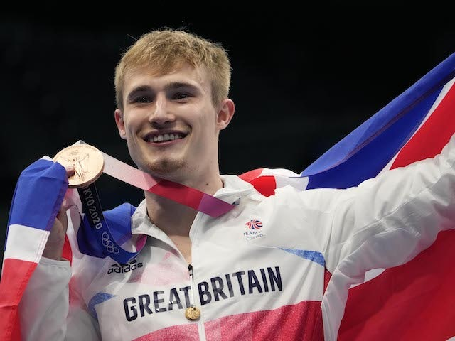 Jack Laugher savours Olympic bronze after 'worst two years' of his life