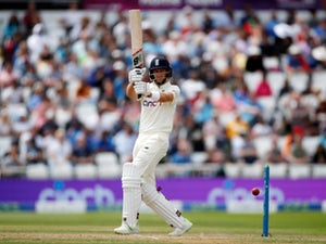 England duo James Anderson and Joe Root carry the fight against India