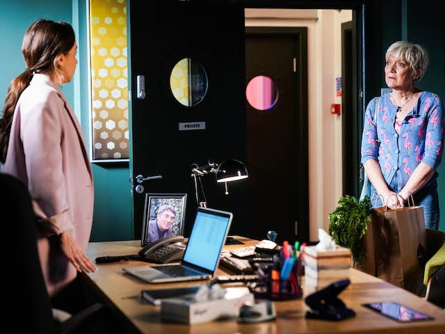 Ruby and Jean on EastEnders on August 10, 2021