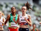 Laura Muir pictured at the Tokyo 2020 Olympics on August 2, 2021
