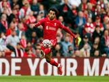 Liverpool's Mohamed Salah in action on August 8, 2021