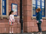 Hope and Fiz on the first episode of Coronation Street on August 18, 2021