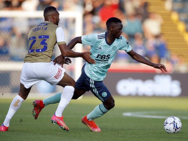 Rodgers heaps praise on Daka ahead of Napoli clash