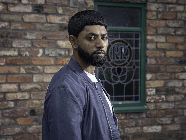 Coronation Street confirms Zeedan Nazir's return