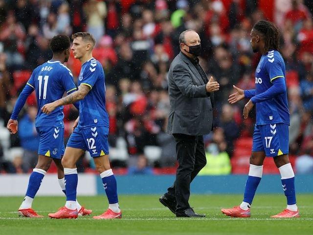 Everton boss Rafael Benitez pictured on August 7, 2021