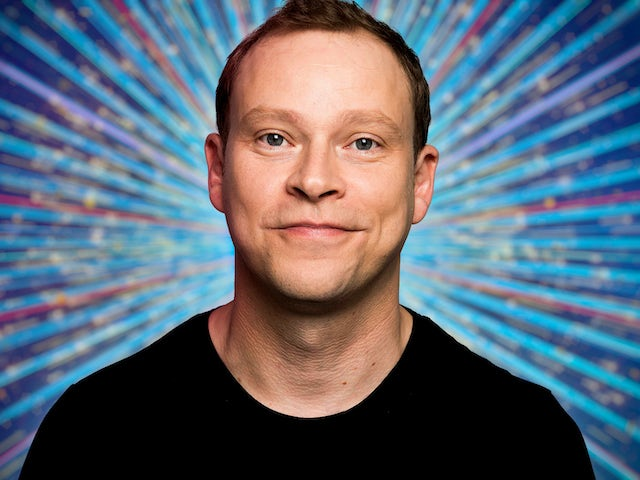 Robert Webb for Strictly Come Dancing 2021