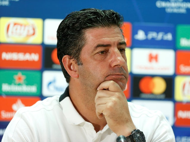 Rui Vitoria, now in charge of Spartak Moscow, pictured in 2018