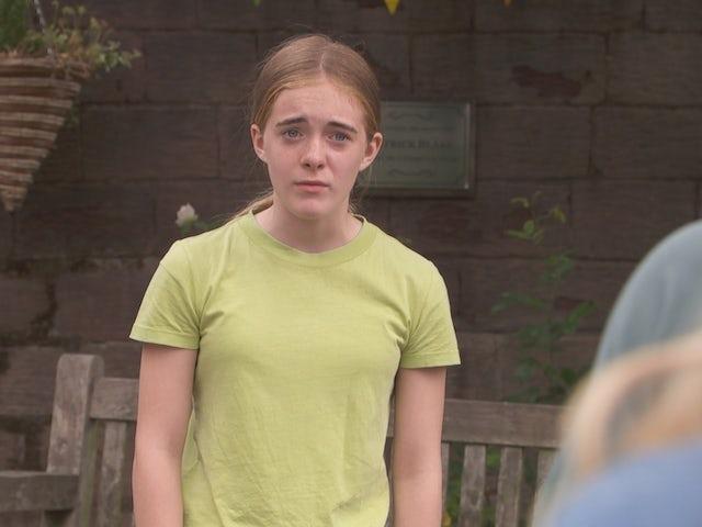 Ella on Hollyoaks on August 9, 2021
