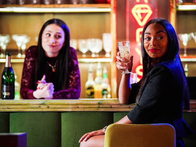 Dotty and Chelsea on EastEnders on August 10, 2021
