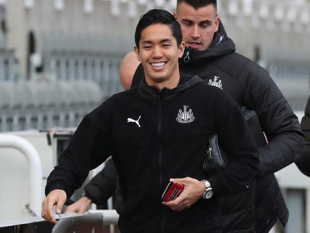 Japan striker Yoshinori Muto leaves Newcastle by mutual consent