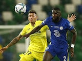 Chelsea's Antonio Rudiger in action in the UEFA Super Cup on August 11, 2021