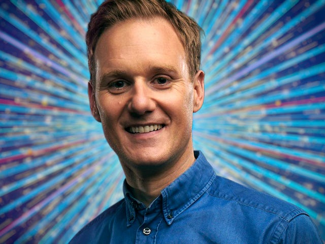 Dan Walker for Strictly Come Dancing 2021