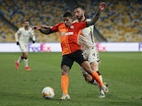 Shakhtar Donetsk's Dodo pictured in action in March 2021