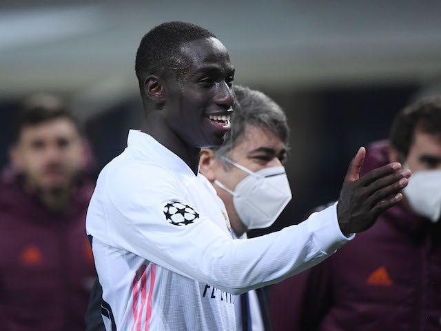 Real Madrid defender Ferland Mendy pictured in February 2021