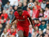 Ibrahima Konate in action for Liverpool in August 2021