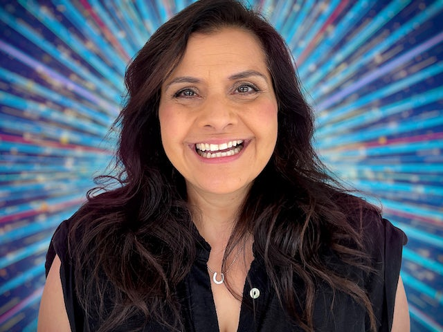 Nina Wadia for Strictly Come Dancing 2021