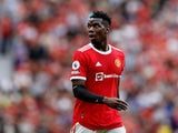 Manchester United midfielder Paul Pogba pictured in action against Leeds United in the Premier League on August 14, 2021