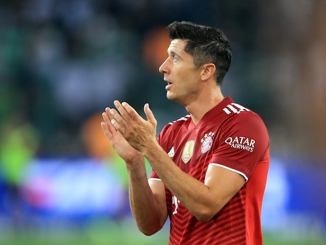 Liverpool 'emerge as contenders for Lewandowski'