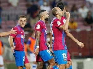 "Barcelona confirm ""successful"" knee operation for Braithwaite"