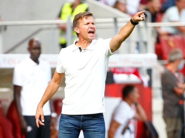 RB Leipzig head coach Jesse Marsch pictured on August 15, 2021