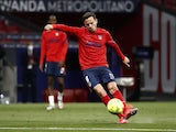 Atletico Madrid midfielder Saul Niguez pictured in May 2021