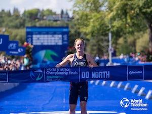 Taylor Knibb produces extraordinary performance for Edmonton triathlon victory