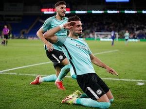 Jakub Moder and Andi Zeqiri on target as Brighton beat Cardiff in Carabao Cup