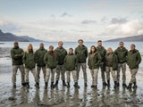 Group shot of the contestants on Celebrity SAS: Who Dares Wins series three